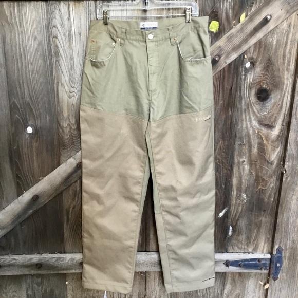 Columbia Men/'s Ultimate Roc Omni-Sheild Pant Khaki Inseam 30, 32 /& 34